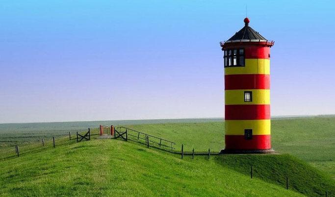 Leuchtturm Otto Nordsee Festland