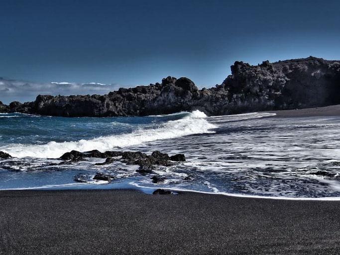 Kanaren La Palma Strand