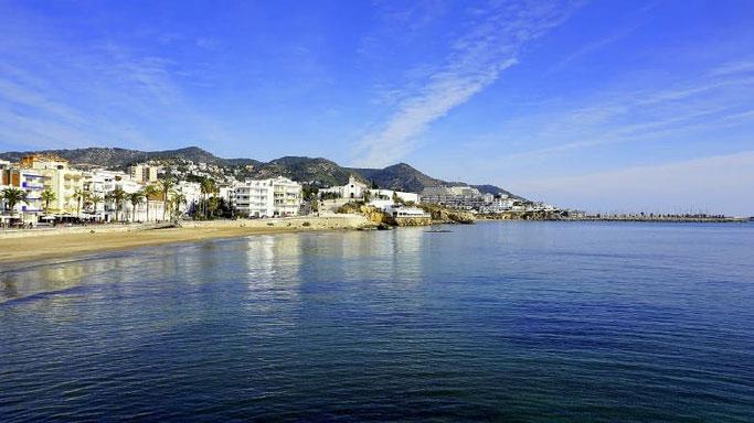 Mit dem Auto nach Spanien Costa Dorada Sitges