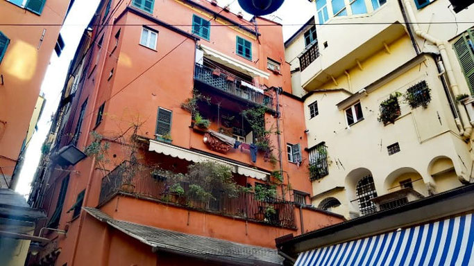 Genua Altstadt