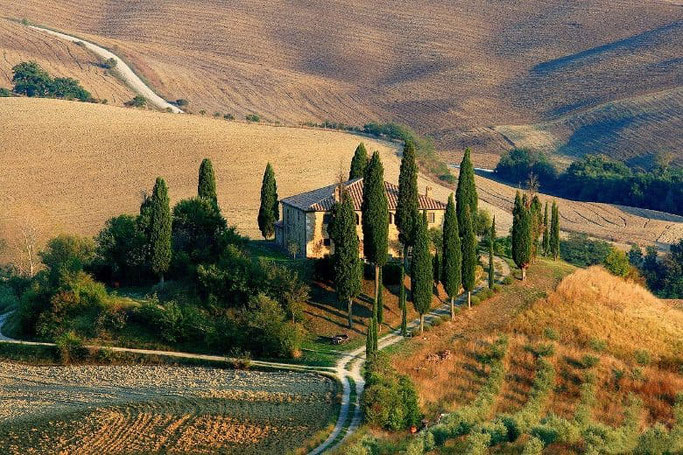 Reiseziele Europa - Urlaub mit dem Auto Italien Toskana