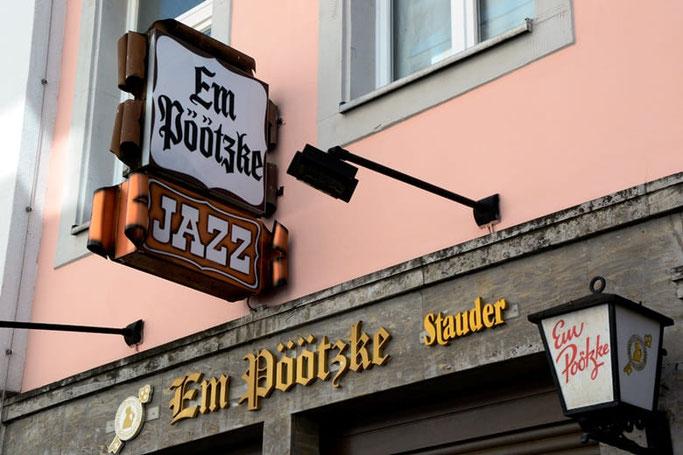 Düsseldorf Jazz Kneipe Em Pöötzke