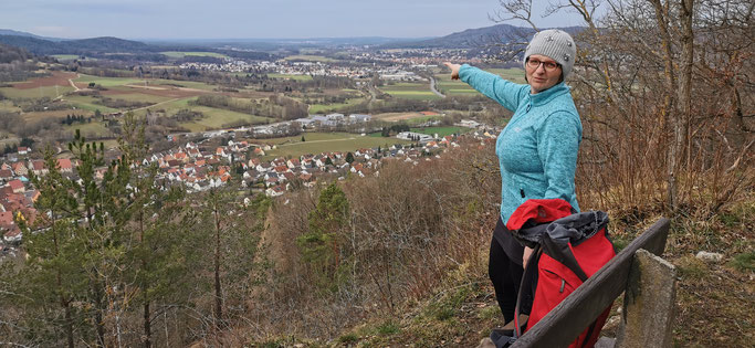 Happburg - Hersbruck   ---     Ein wunderschöner Ausblick