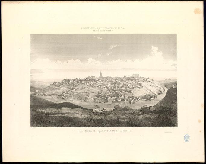 Vista de Toledo desde el Sudeste