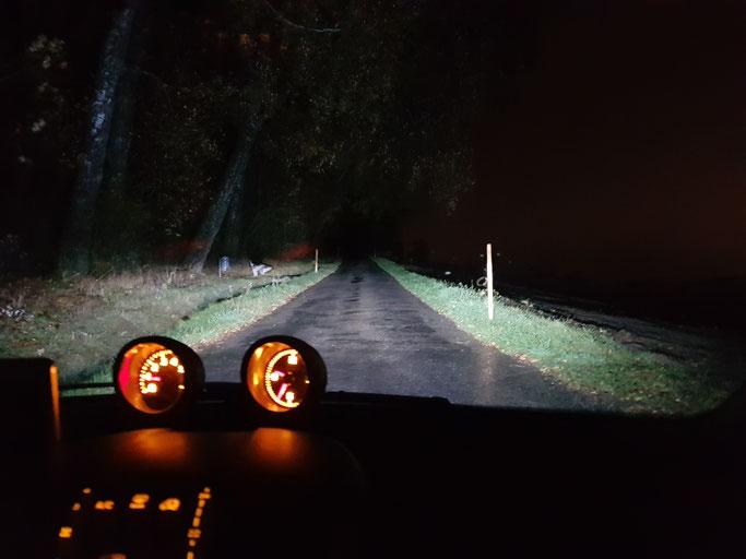 SMART ForTwo LED Abblendlicht H7 Nebbelicht H11 bei Nacht und Regen