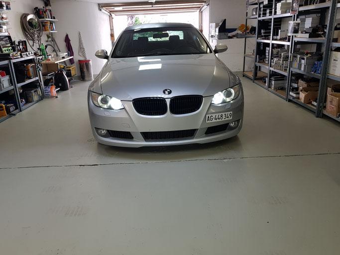BMW LED ANGEL WEISS RGB MIT HANDY APP STEUERBAR