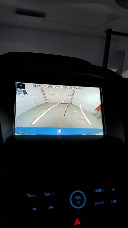 FORD LED  RÜCKFAHRLICHT dadurch viel besseres Bild im Monitor beim Rückwärtsfahren
