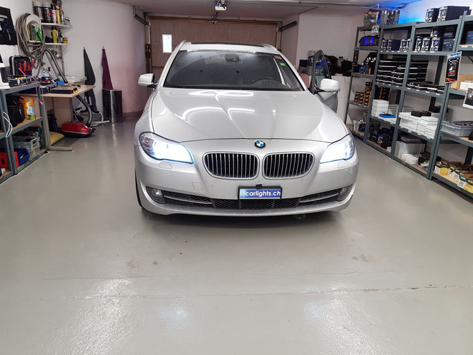 BMW 7er F1 LED Umbau H7 LED Philips X-treme Ultinon