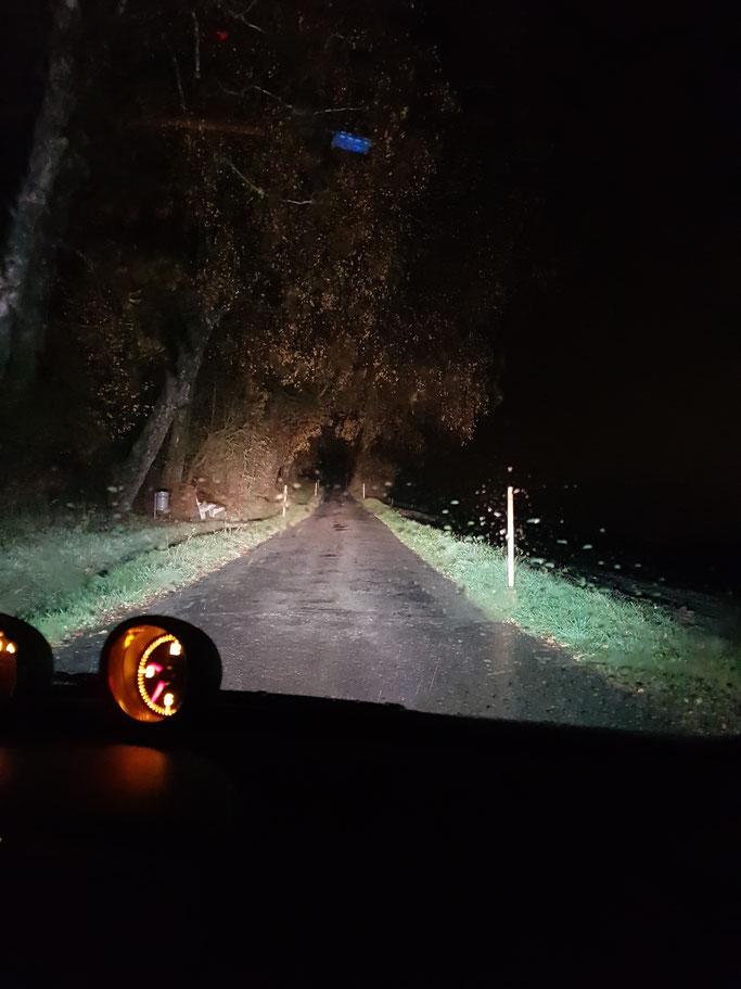 SMART ForTwo LED Abblendlicht Fernlicht H7 Nebbelicht H11 bei Nacht und Regen