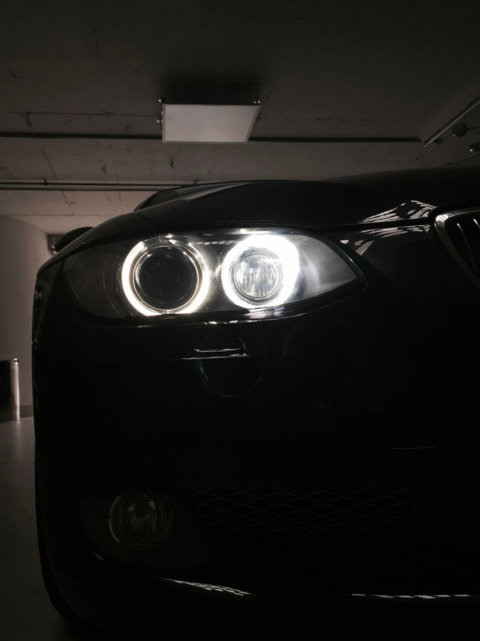 BMW 3er E93 LED Angel eyes by carlights.ch