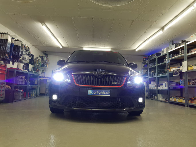 SKODA FABIA RS LED ABBLENDLICHT H7 PHILIPS XTREME ULTINON
