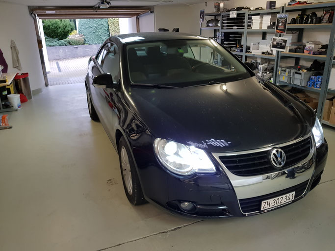 VW LED umbau Abblendlicht