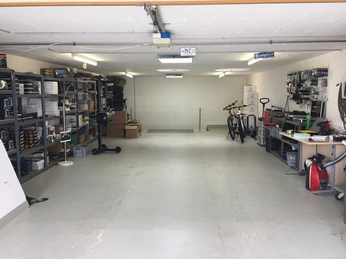 carlights.ch Garage Werkstatt