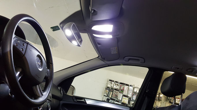 MERCEDES BENZ ML LED INNENRAUM