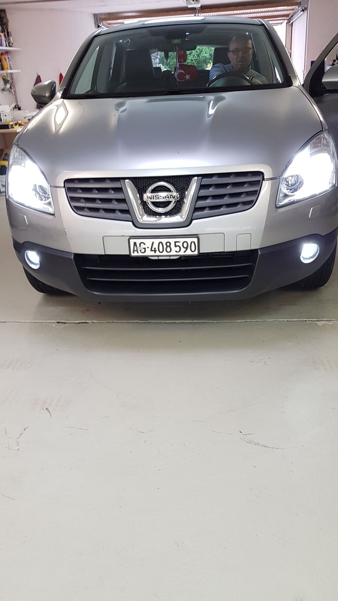 NISSAN LED UMBAU
