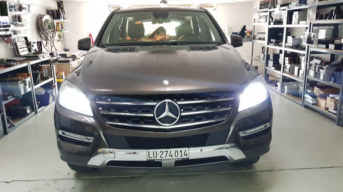 MERCEDES ML LED ABBLENDLICHT