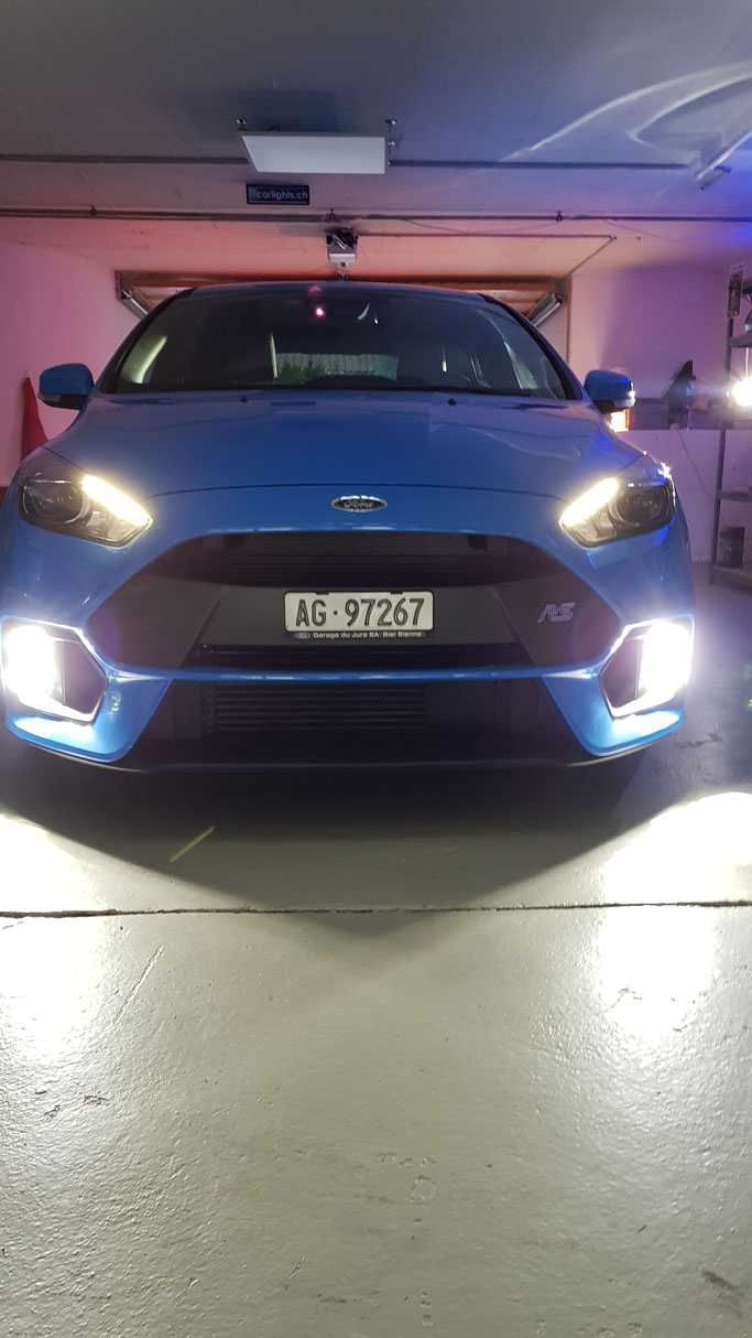 FORD FIESTA RS LED NEBELLICHT