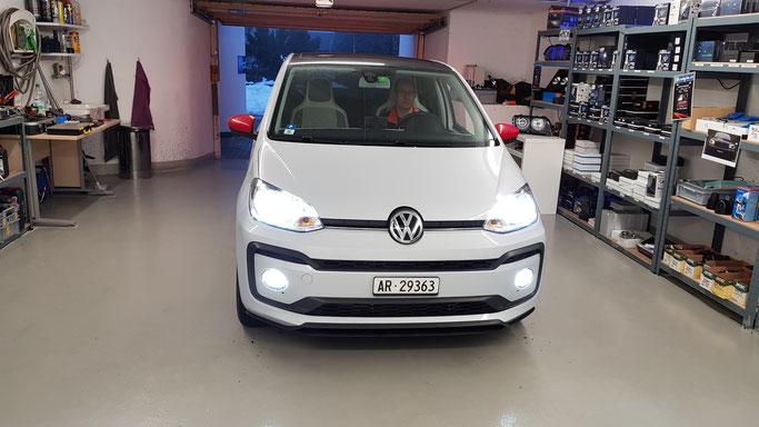 VW UP 2017 LED UMBAU Komplett Innen und Aussen
