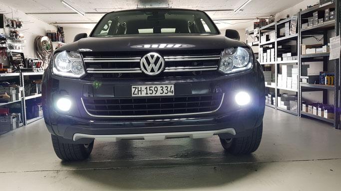 VW LED Umbau  Nebellicht Standlicht