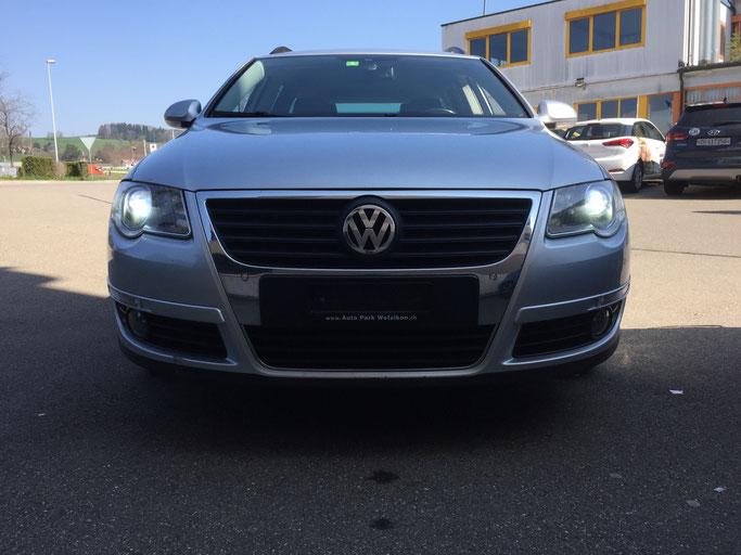 VW PASSAT LED UMBAU ABBLENDLICHT H7 CARLIGHTS