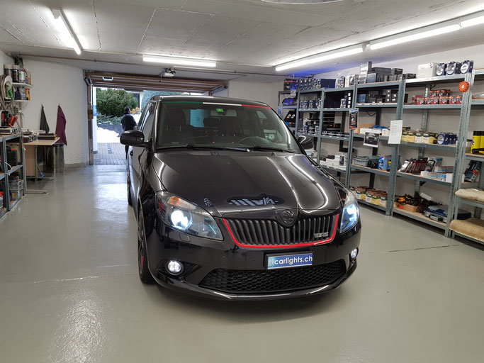 SKODA FABIA RS LED ABBLENDLICHT H7 PHILIPS X-TREME ULTINON