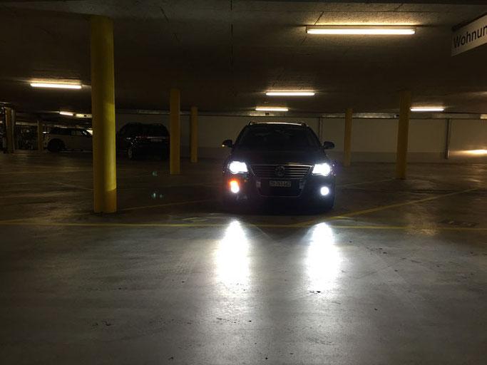 VW PASSAT LED UMBAU H7 Nebellicht W5W Standlicht Swiss Made