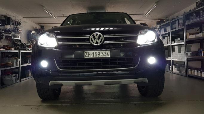 VW LED Umbau Abblendlich, Nebellicht Standlicht