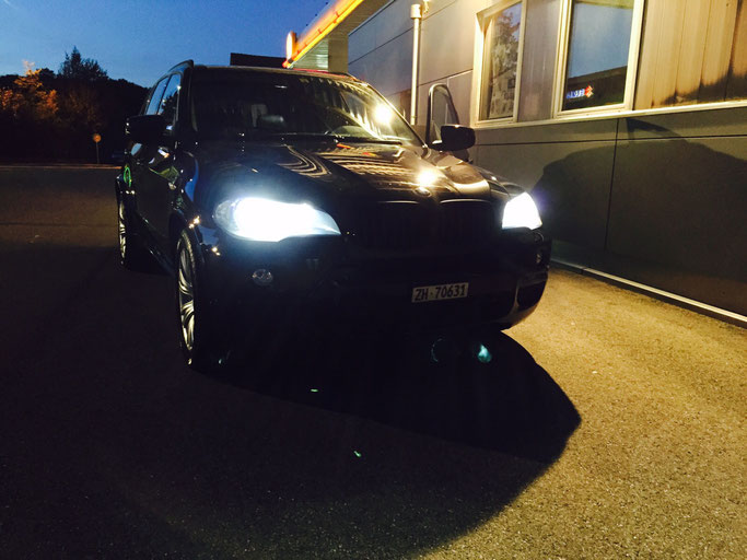 BMW X5 LED ABBLENDLICHT H7
