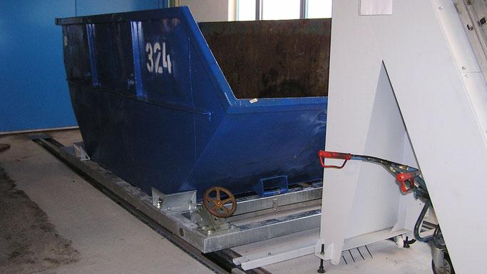 Rollwagen für Müllcontainer