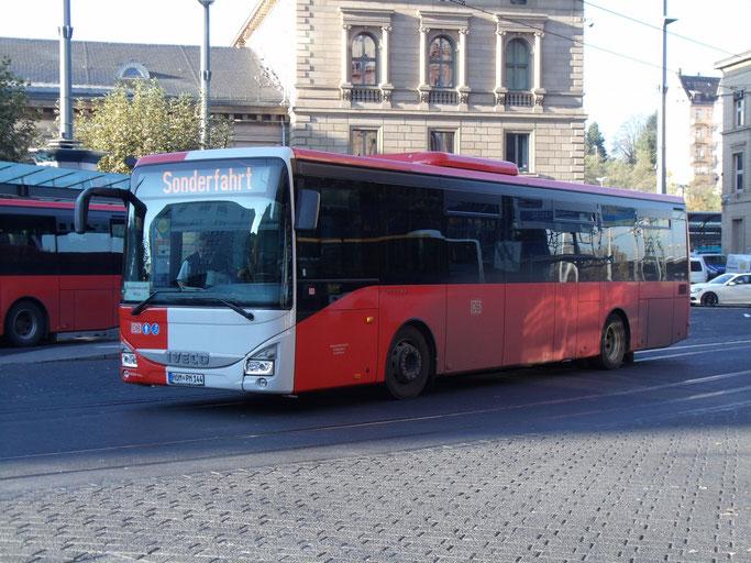 Neues Und Altes In Mainz Hobby Busverkehr In Rhein Main