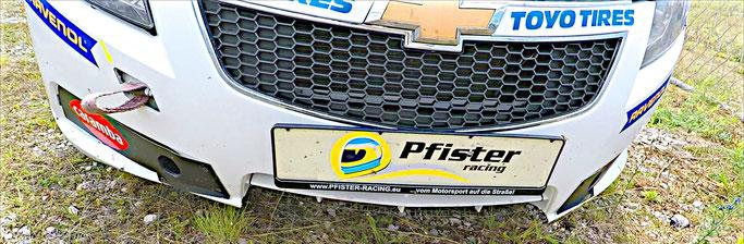 Harter Motorsport Chevrolet Cruze Eurocup 2020 Untersteuern Dennis Bröker Crash Unfall Kroatien