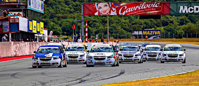 Automotodrom Grobnik Dennis Bröker ESET V4 GT3 Kroatien Motorsport Chevrolet Cruze Eurocup 2020
