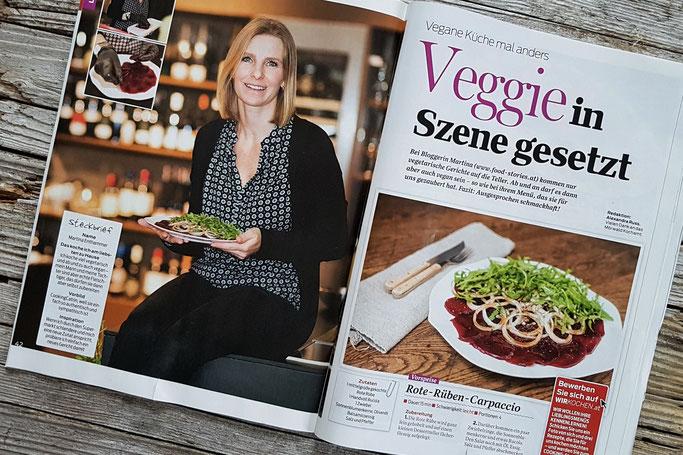 Martina Enthammer in der Cooking