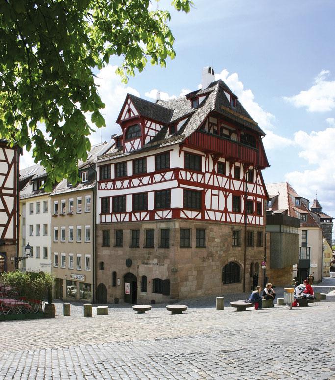 Das Albrecht-Dürer-Haus in Nürnberg. © Foto: Christine Dierenbach