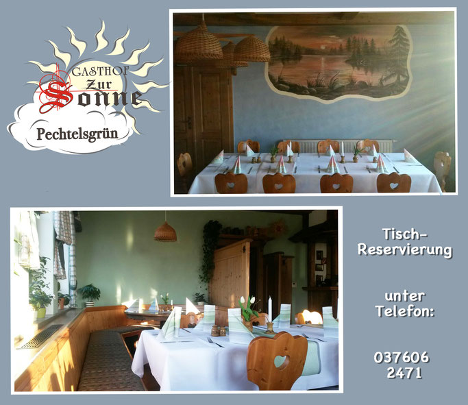 "Gasthof ""Zur Sonne"" in Pechtelsgrün"
