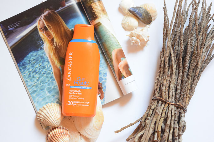 Meine liebsten Beautyprodukte im Juli standen im Zeichen des Sonnenschutzes. Mit Lancaster durch Sommer und Sonne. Schutz vor Sonnenbrand.