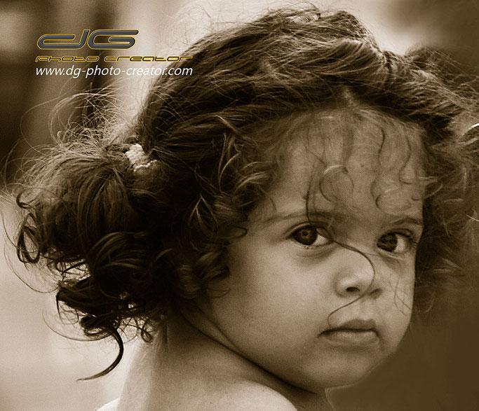kleines Mädchen - Portraitfotografie by dg photo creator