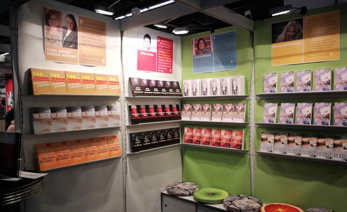 Unser Stand auf der Frankfurter Buchmesse 2018