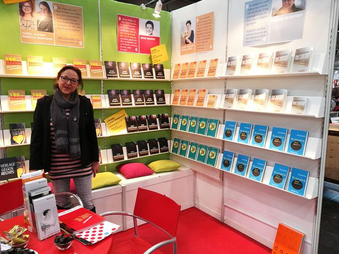 Unser Stand auf der Leipziger Buchmesse 2018
