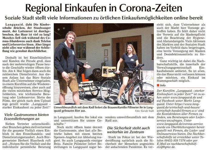 Laber Zeitung 27.04.2020