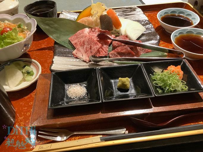 松坂牛食べ比べ膳