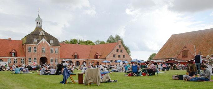 Gut Hasselburg: Musikfest auf dem Lande / © Axel Nickolaus