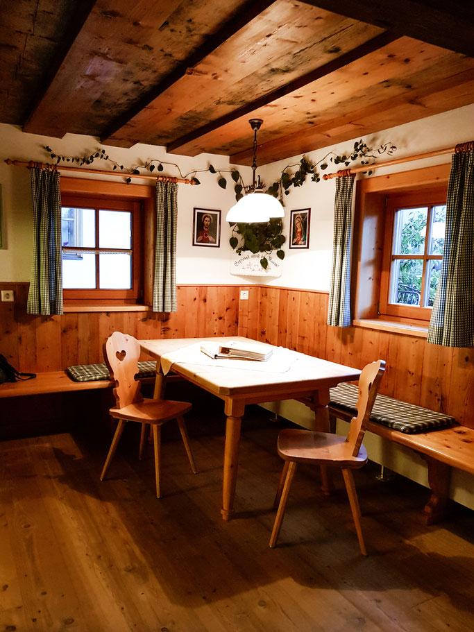 Die gemütliche und helle Wohnküche