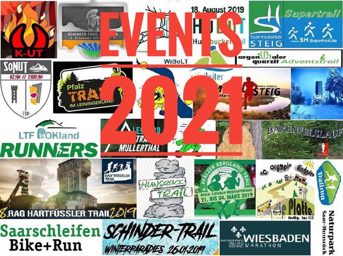 Trailrunning Events Regionaler Eventkalender 2020