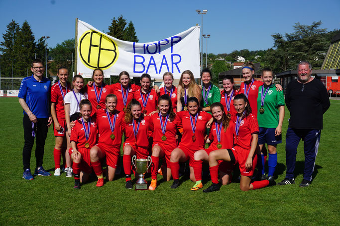 Schweizer Juniorinnen Cupsieger 2019 - FC Baar FF19