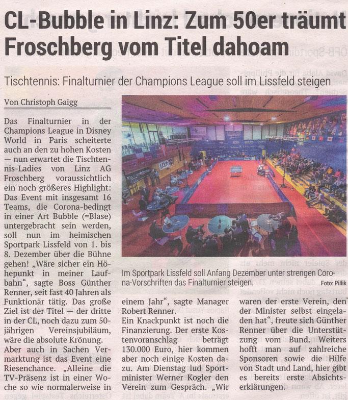 8.10.2020 Volksblatt