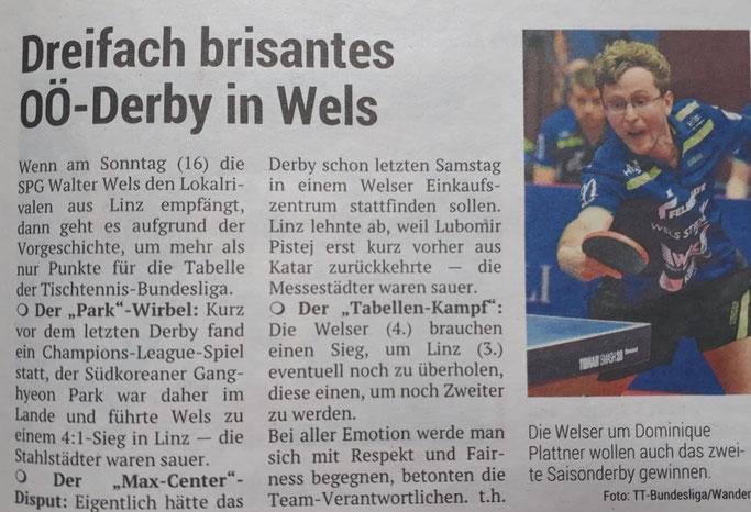 6.04.2019 Volksblatt