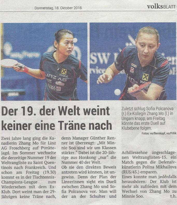 18.10.2018 Volksblatt
