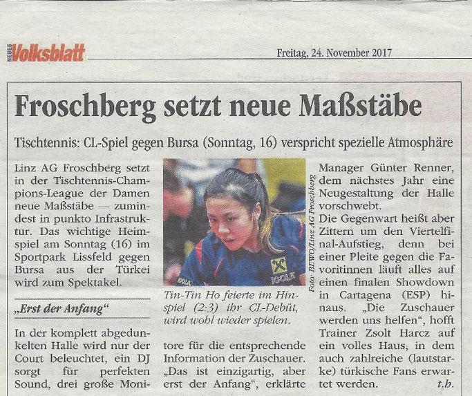 24.11.2017 Volksblatt