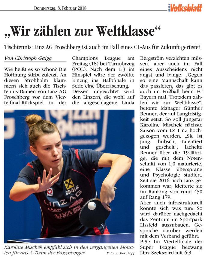 08.02. 2018 Volksblatt